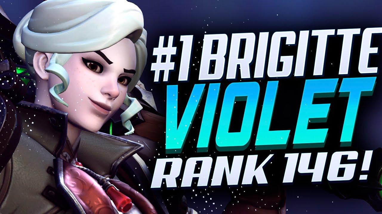 Download Violet Brigitte - Road to Rank 1! [ Overwatch Season 30 Top 500 ]
