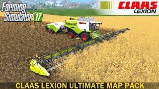 Farming Simulator 17 CLAAS LEXION ULTIMATE MAP PACK