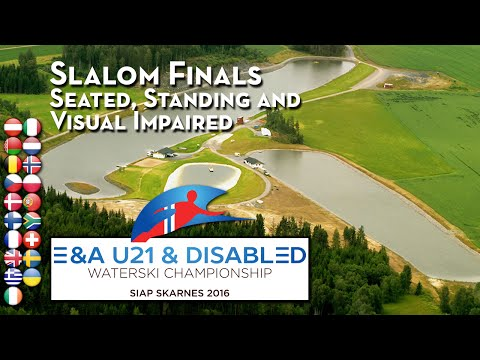 Slalom Finals - Visual Impaired, Standing & Seated - 2016 E/A Disabled Championships