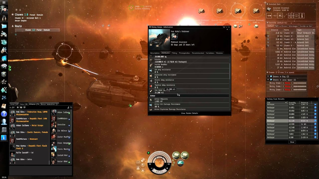 Eve Online Gameplay 2013 - #traffic-club