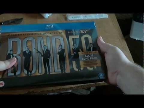 Bond 50 Bluray Boxset Overview