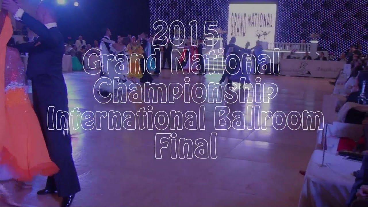 Professional International Ballroom Final Round 2015 Grand National Championships