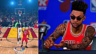 NBA 2K18 MyCAREER - TALKING ABOUT BEING AN ALL-STAR STARTER! SPLASHING MORE 3's THAN THE ROCKETS! 🔥🔥