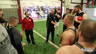 Dodgeball Challenge Bodybuilders vs Football Players
