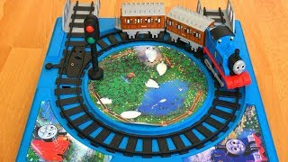 Rare Thomas and Friends Toy Trains  Play Set with Annie n Clarabel Disney Cars Toy McQueen