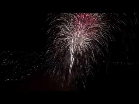 Santa Barbara Drone Firework Show