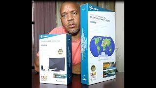 ANTOP  Digital HDTV Indoor Antenna  Antennas With 3D Map Or Door Bell