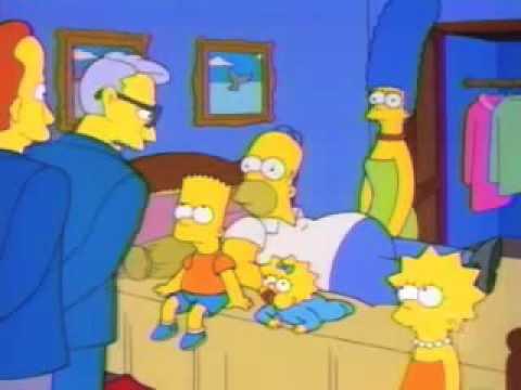 Homer Simpson meets US Marine