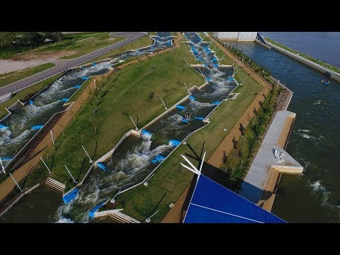 A Flyover of Riversport Adventures in Oklahoma City