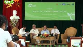 Tường thuật Tọa đàm Sinh viên với ý tưởng kinh tế xanh 2010 P11