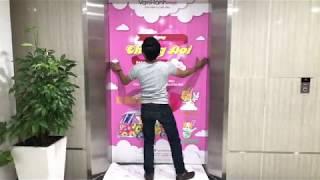 Thi Công Dán Decal Thang Máy Trong TTTM Vanhanh Mall - CTY ADV Solution #Decal #vanhanhmall