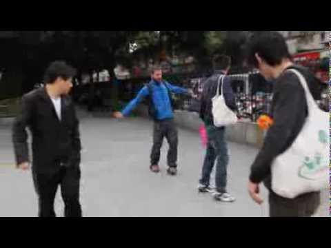 Skating in Shanghai