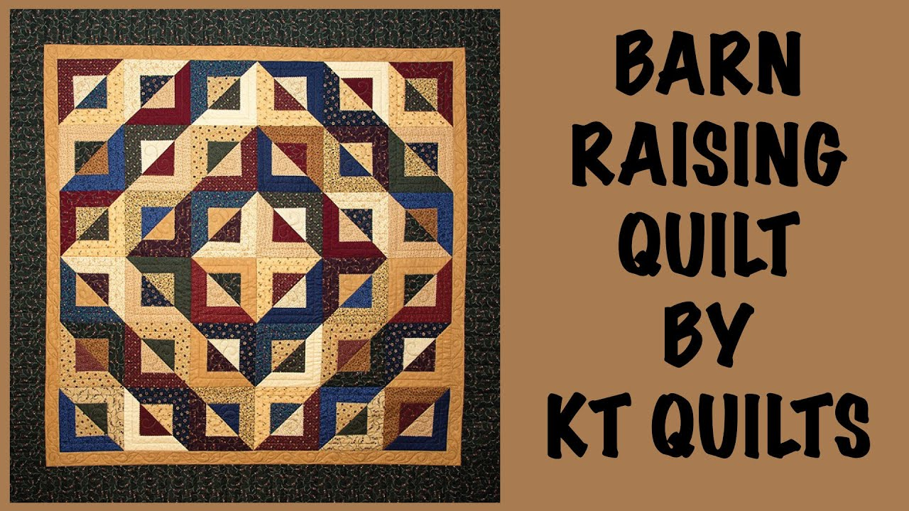 Kansas Troubles- Barn Raising Quilt with the Five & Dime Ruler ... : five and dime quilt - Adamdwight.com