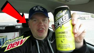 Reed Reviews Mountain Dew Spiked Lemonade