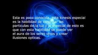 Tipos de kinesis