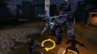 Dragon Age Origins Awakening PC Gameplay Ogre killing HD