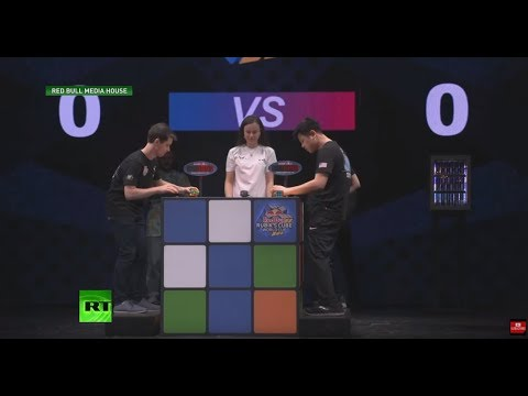17-year-old wins Rubik's Cube World Cup in 5.2 seconds
