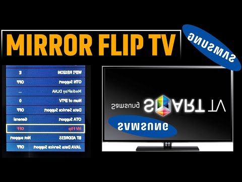 How To Mirror Flip Your TV (2020) | Using Secret Remote Code