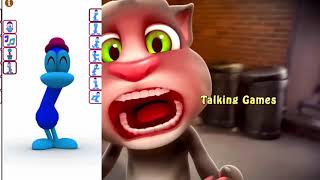 Смешкой Котик Том и Цветной Пато на Канале Talking Games