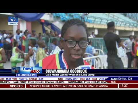 Channels U-17 Track & Field: Goodluck Shares Her Success Story