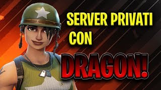 LIVE PRIVATE SERVERS FOR ALL PASSWORDS IN CHAT WHO WILL WIN?! FORTNITE BATTLE ROYALE ITA!