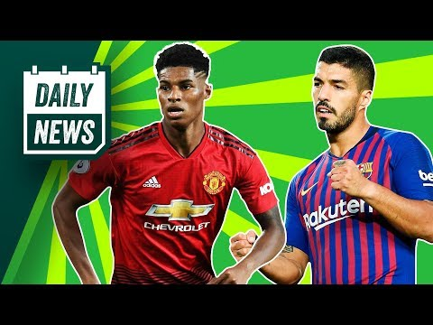 Real Madrid want two EPL stars, Barcelona to REPLACE Suarez + more!►Onefootball Daily News thumbnail