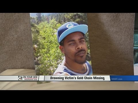 Drowinging Victim's Gold Chain Missing