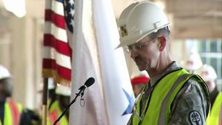 Hospital Construction Halfway Point Marked With Topping Out Ceremony