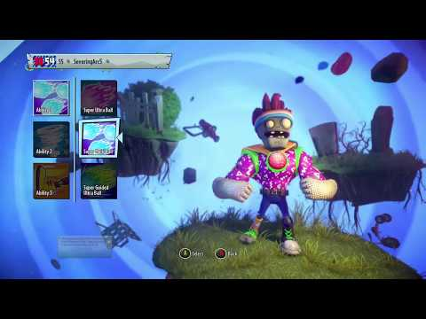 Plants vs. Zombies Garden Warfare 2 Weekly Showcase #5 Party Brains!