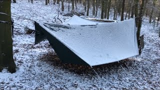 2 NIGHTS WILD WINTER HAMMOCK CAMPING