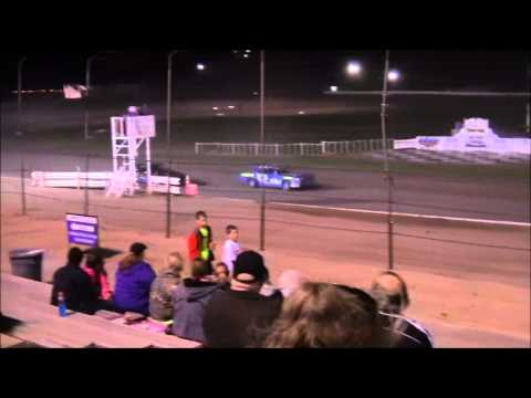 IMCA I Stocks @ lubbock Speedway 4-24-15