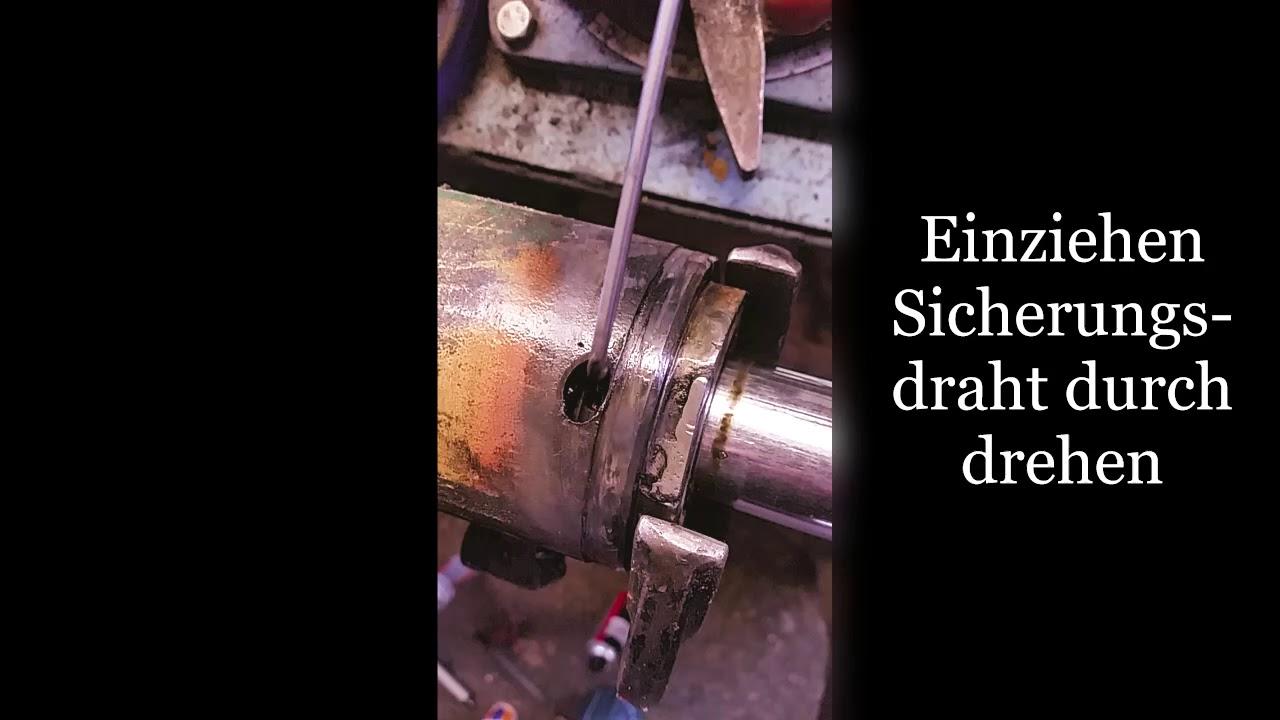 Gemeinsame Radlader Zettelmeyer ZL 500 Hubzylinder zerlegen - YouTube &SS_12