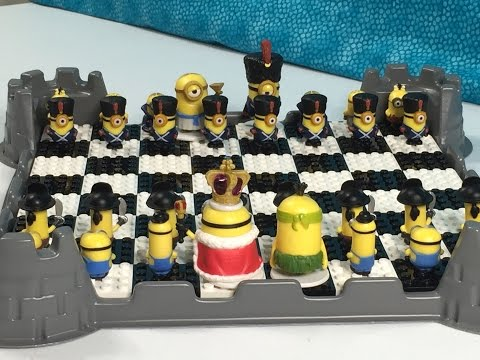 Custom Minions Lego Chess Board Unboxing & GIVEAWAY | PSToyReviews