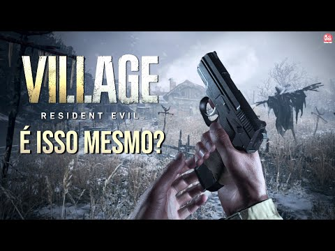 """RESIDENT EVIL 8 : VILLAGE – GAMEPLAY """"ESTRANHA"""", Dublagem em Português e Capcom Hackeada"""