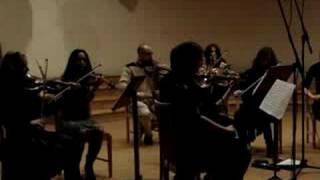 """CAMERATA KLAIPEDA"" recording Astor Piazzolla ""MEDITANGO"""