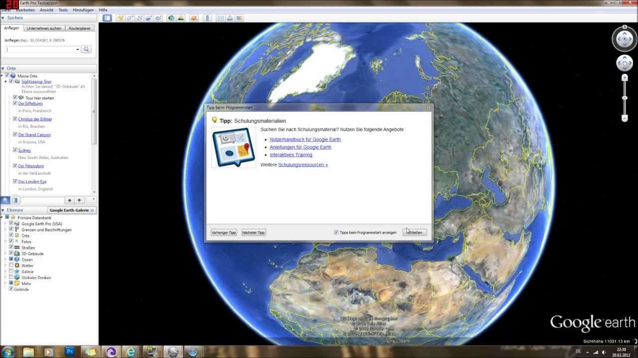 google earth 6.2.2 gratuit