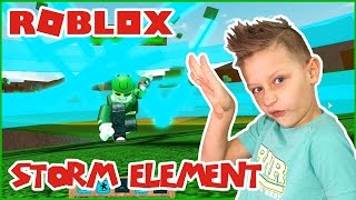 Storm Element Unlocked / Roblox Elemental Battlegrounds