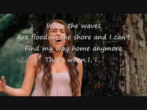 Miley Cyrus - When I look at you Official Music Video with Lyrics