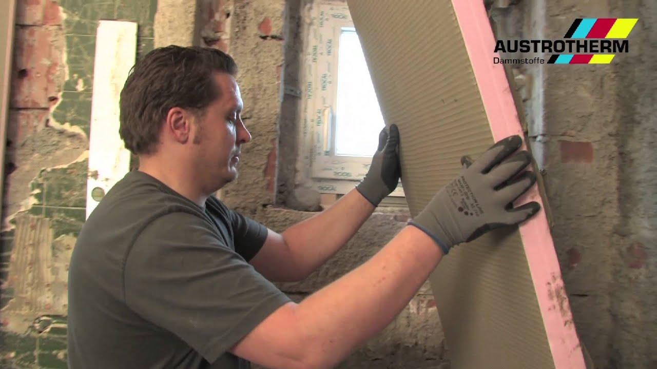 Styrodur Badezimmer | Austrotherm Uniplatte Verarbeitung Youtube