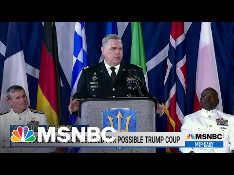 New Book Reports Gen. Milley Prepared Troops For Possible Trump Coup