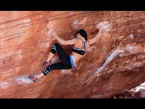 Tied to the Whipping Post [V6] - Red Rocks Bouldering