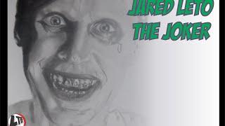 How to Draw The Joker as Jared Leto | Desenhando O Curinga de Jared Leto (Speed Draw #04)