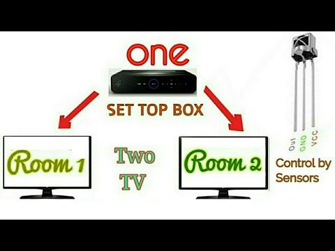 How to watch Two TV by One Set Top Box very Easy technique. एक सेटोपबोक्स से दो TV चलाये।