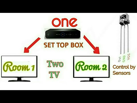 How to watch Two TV by One Set Top Box very Easy technique ...