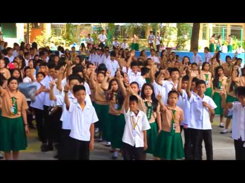 One Billion Rising Revolution in Quezon City High School, Quezon City
