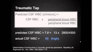 "CSF Analysis in Lumbar Puncture:  ""EM in 5"""