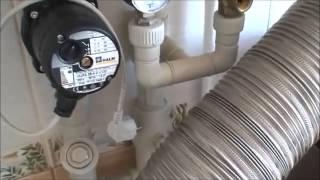 установка напольного газового котла в маленькой кухне