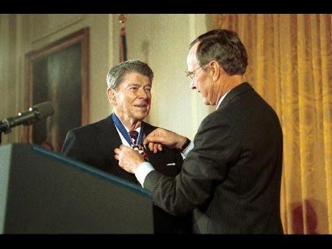 President Reagan Awarded the Presidential Medal of Freedom ...