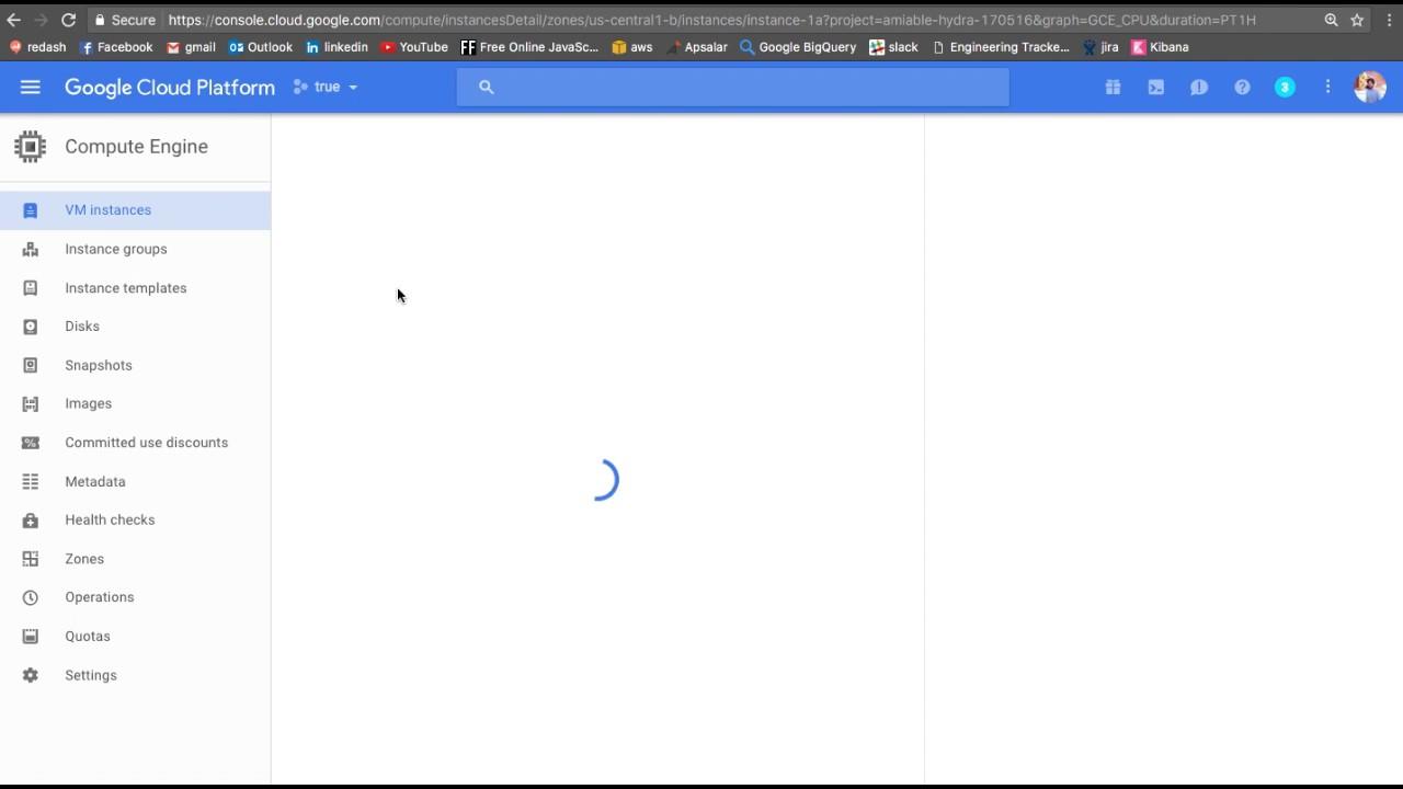Google Cloud Platform: Setting up Compute Engine VM