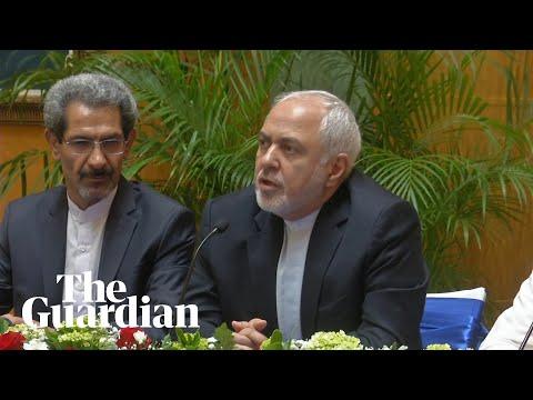 Iranian FM's message for Boris Johnson: Iran does not seek confrontation